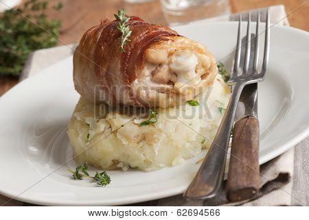 Chicken With Mash