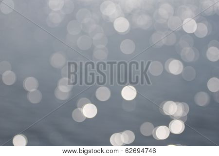 Abstract Glares On A Water Surface