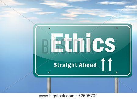Highway Signpost Ethics