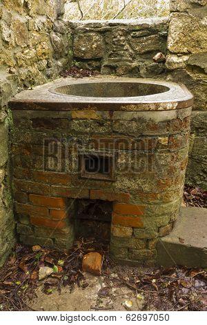 Copper - Vintage Water Heater, Derelict.