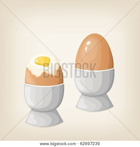 Breakfast Boiled Eggs