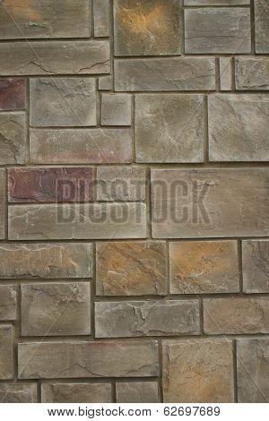 Stone Wall Background (v)