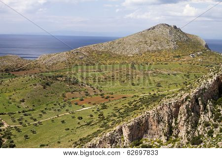 Attica Greek Landscape