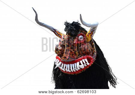 Ghost, Halloween, Devil, Ugly Face Mask, Scarly Bull
