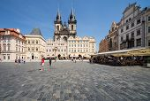 Old town square, Prague