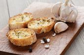 Crostini With Olive Oil And Garlic
