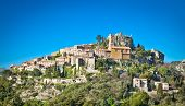 picture of italian alps  - Church Our Lady of Assumption was built by an Italian architect Spinelli between 1764 and 1778 in Eze - JPG