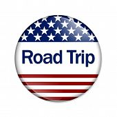 Постер, плакат: An American Road Trip