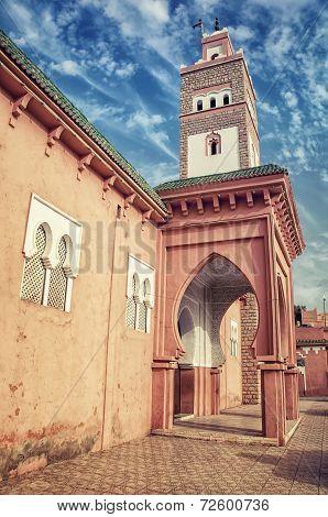 Ouarzazate in Morocco