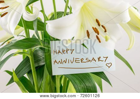 Happy Anniversary Floral Gift