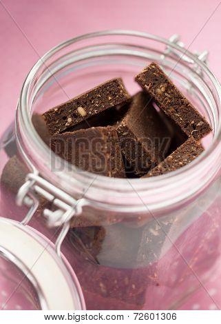 Healthy Brownies In A Jar