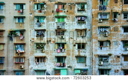 Group Old Window,ho Chi Minh Apartment Building