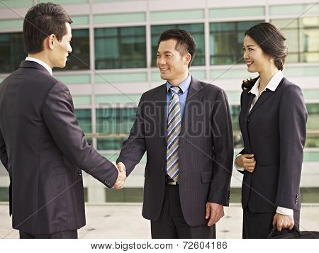 Asian Businesspeople