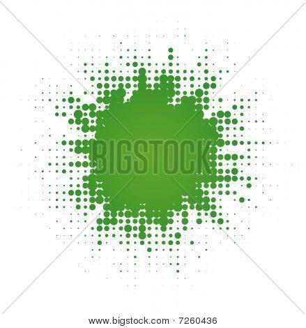 abstract digital blob