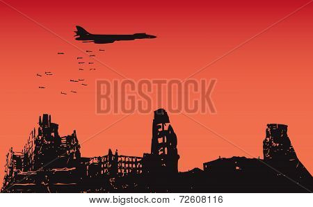 Bombing Of The City
