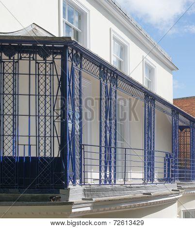French Style Iron Balcony Railings