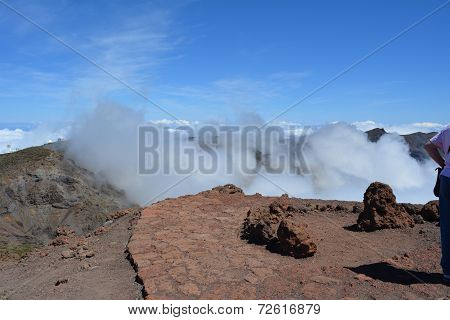 Roque de Los Muchachos. La Palma, Canary islands, Spain