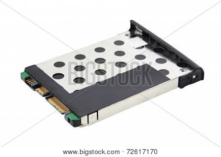 Laptop Harddisk Drive (hdd) Isolated On White