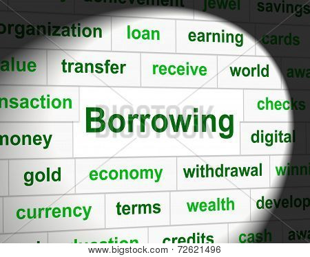 Borrowing Debt Means Financial Obligation And Owning