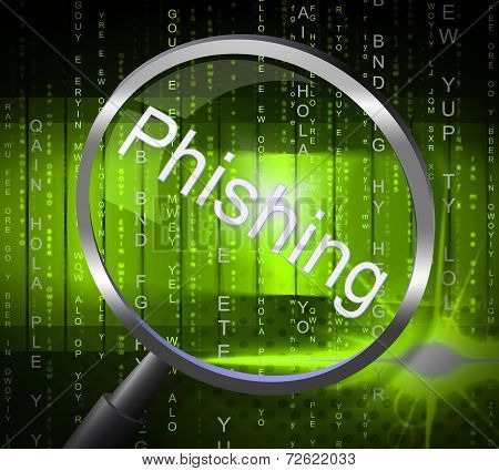 Phishing Fraud Shows Rip Off And Con