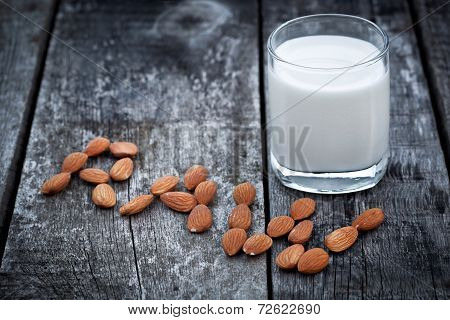 Almond Milk, Vegan Healthcare Drink