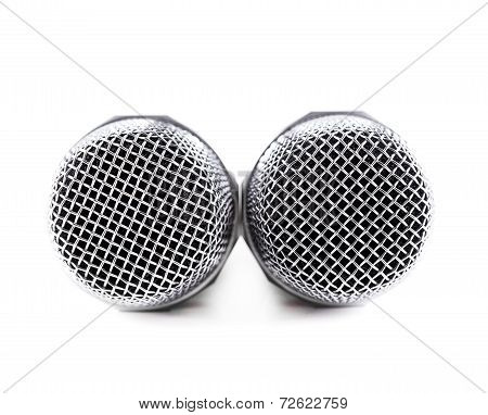 Two Cordless microphones