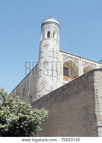 Tashkent Minaret Of Kukeldash Madrassah 2007