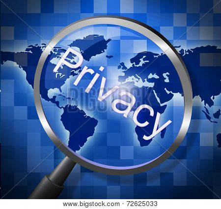 Magnifier Private Means Searching Restricted And Research