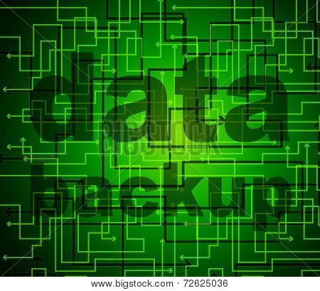 Data Backup Means File Transfer And Archives