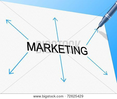 Promotion Sales Means Marketing Reduction And Market