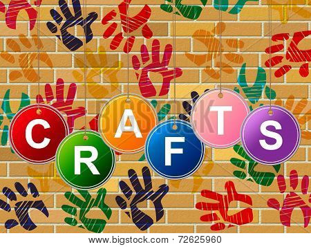 Crafts Craft Indicates Artistic Artist And Draw