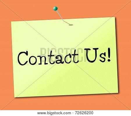 Contact Us Indicates Call Now And Chatting
