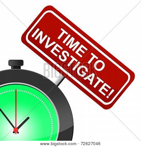 Time To Investigate Means Informalscope Out And Evaluate