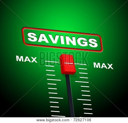 Savings Max Means Upper Limit And Extremity
