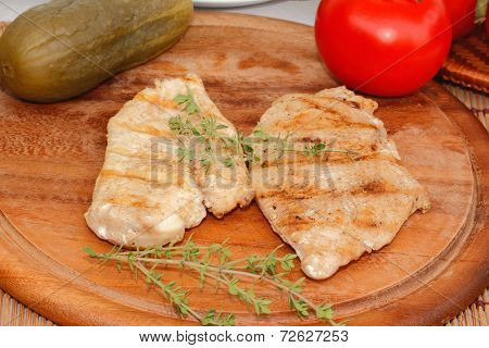 Grilled Chicken Meat