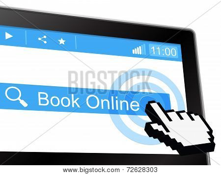 Book Online Shows World Wide Web And Booked