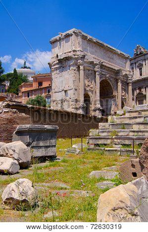 Forum Romanum Arc