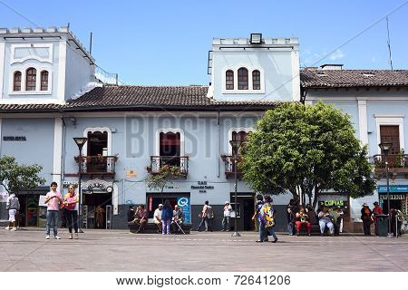 Plaza del Teatro in Quito, Ecuador