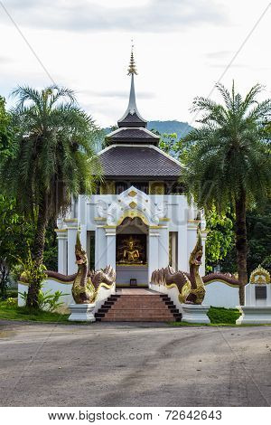 Buddha Statue In Chapel Thai Style
