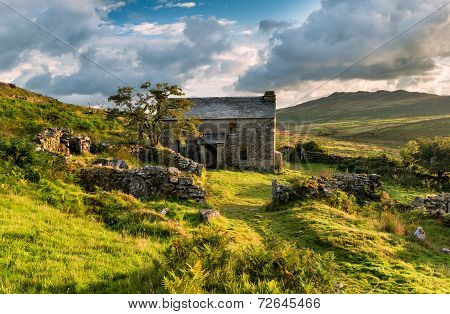 Abandoned Cottage On Bodmin Moor