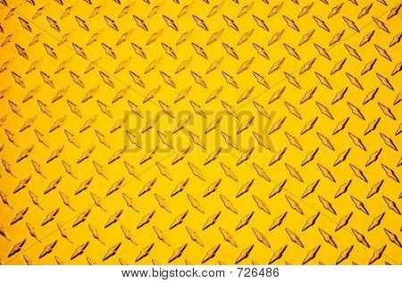 Gold Metal Floor