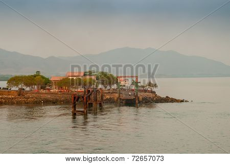 Ferry Dock In Costa Rica