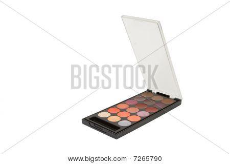 Eyeshadow Palette Isolated