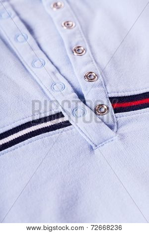 Casual Shirt Collar And Texture Detail