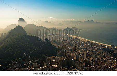 Rio de Janeiro in the Morning Haze