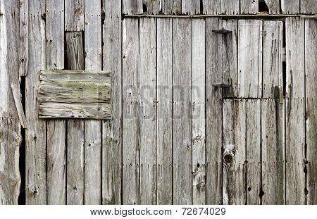 weathered old wood barn background