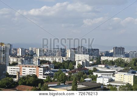 Cityscapes from Sofia, Bulgaria