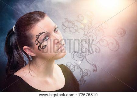 Woman Potrait Ornaments