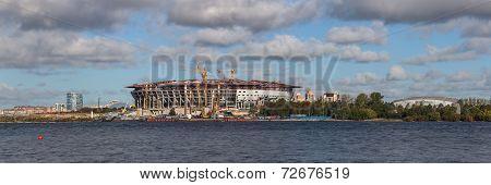 New Stadium In Sankt-peterburg