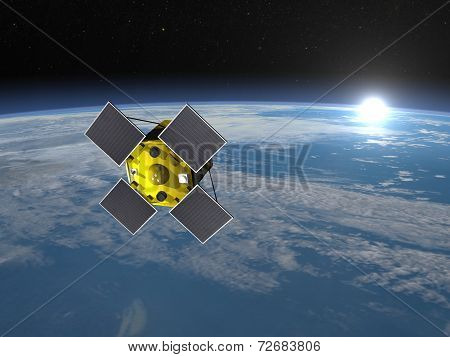 Acrimsat satellite - 3D render